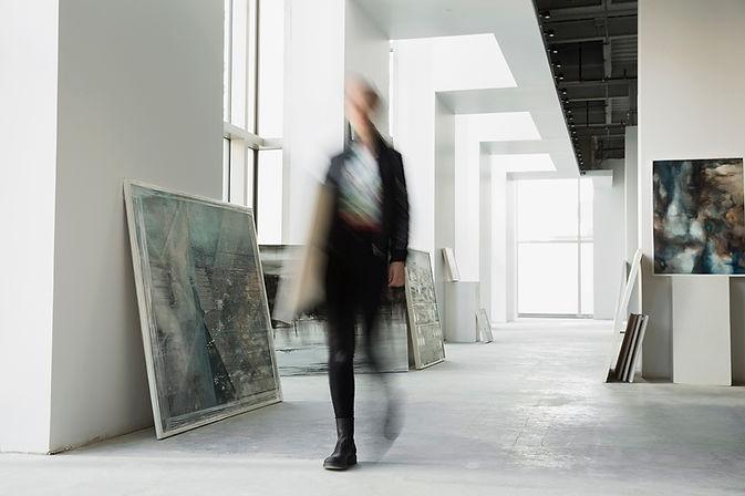 Chůze v galerii