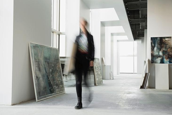Walking In Gallery