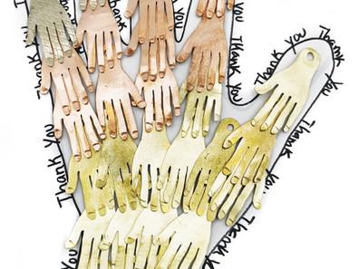Projeto: HAND MEDAL (Medalhas em forma de mão)