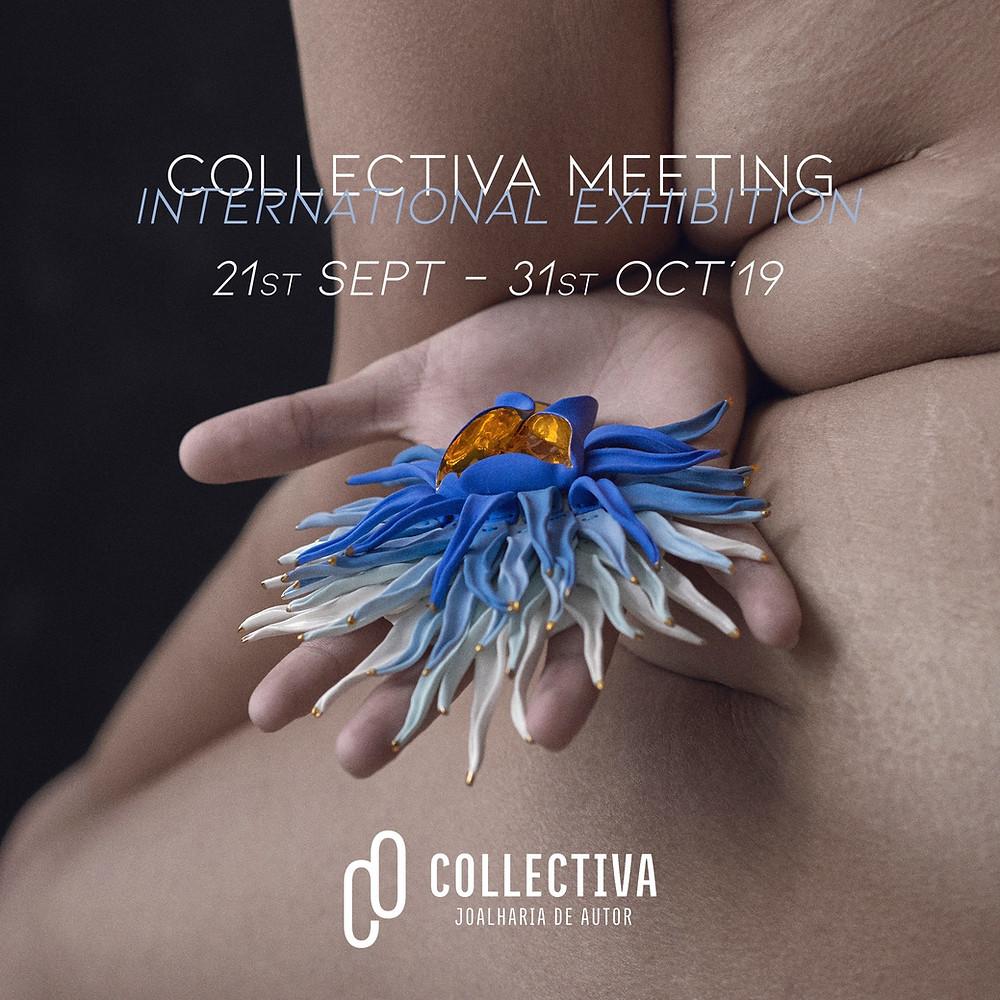 Cartaz evento : Collectiva Meeting '19 _ Pregadeira de Raluca Buzura