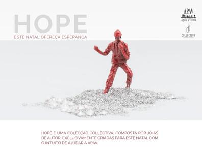 HOPE | Jóias de autor simbolizam esperança na luta contra a violência