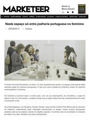 """""""Neste espaço só entra joalharia portuguesa no feminino"""", Marketeer"""