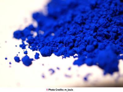 Intriguing Blue