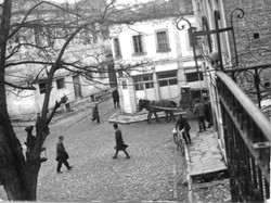 Korca old market square