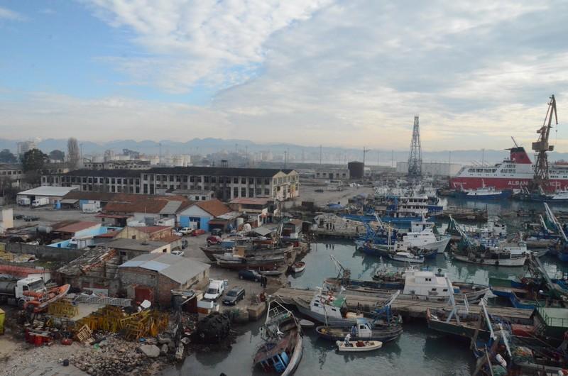 Durres, harbor