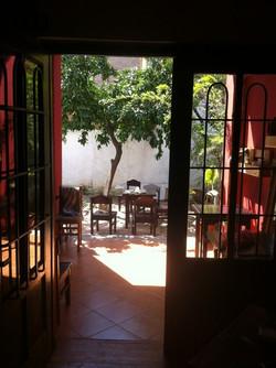 Hostel Albania welcome outside