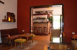 Hostel Tirana bar computer area