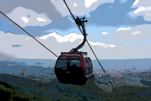 cable car Tirane