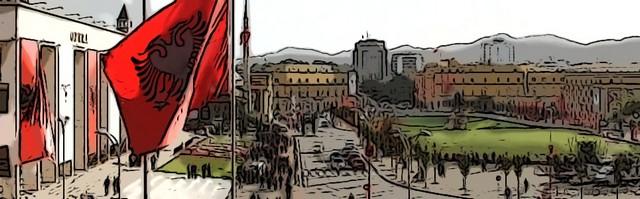 Skanderbeg Square Tirane