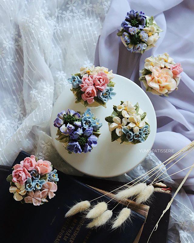 Buttercream floral cupcake masterclass singapore