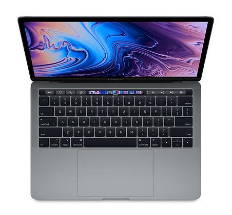 """Macbook Pro 13"""" 2018 avec Touch Bar et Touch ID Core i5 8 Go 256 Go - Q"""