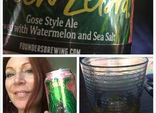 Watermelon, sea salt and the gose