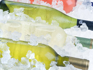 Is putting wine in the freezer an option?