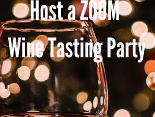 Host a (FUN) Zoom Wine Tasting Party!