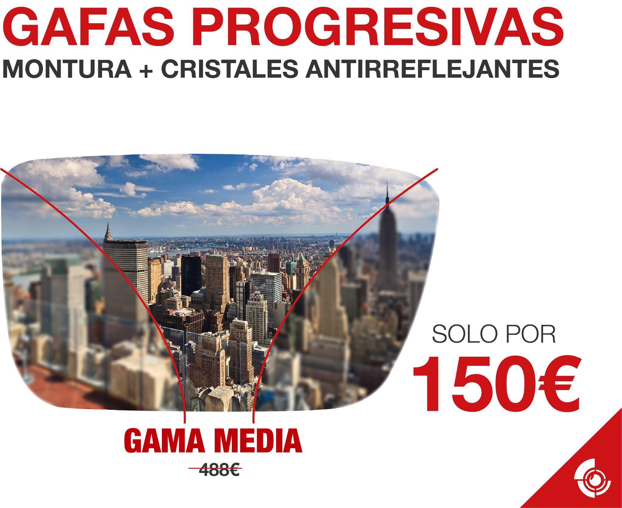 Gafa progresiva (gama media)