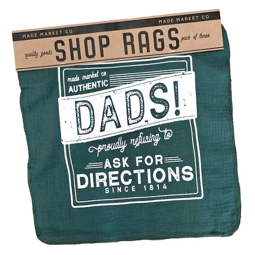 Dads Shop Rag Set