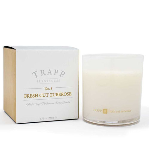 Ambiance Collection - No. 8 Fresh Cut Tuberose - 8.75 oz. Poured Candle