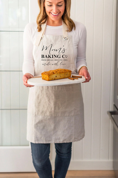 Mom's Baking Co Apron