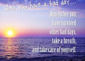 9 Keys to Surviving a Bad Day