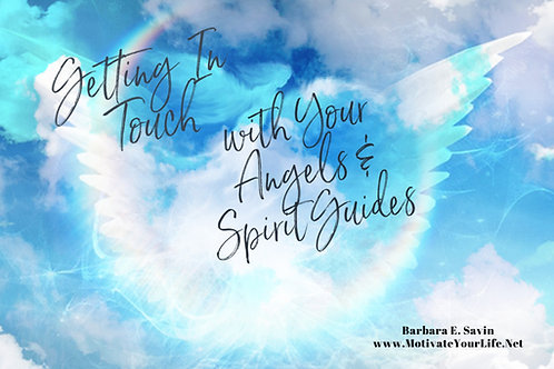 Getting in Touch with Your Angels and Spirit Guides