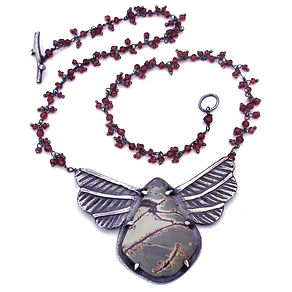 agate garnet love bug necklace feb19.jpg