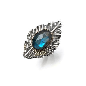 labradorite feather cocktail ring nov20.