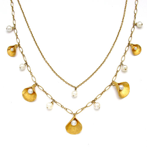 Calla Pearl Collection Convertible Necklace