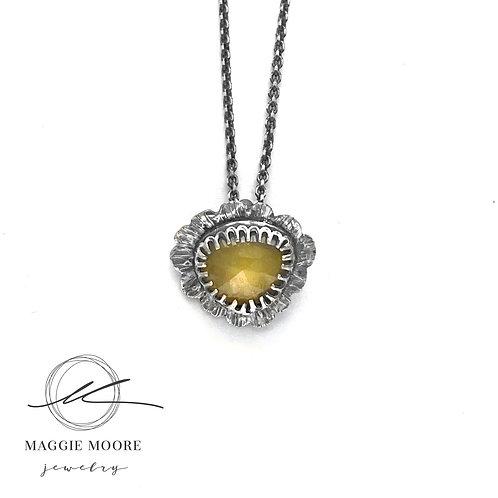 Yellow Sapphire Tiny Talisman