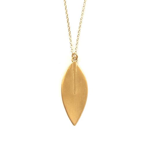 Lotus Large Stem Necklace