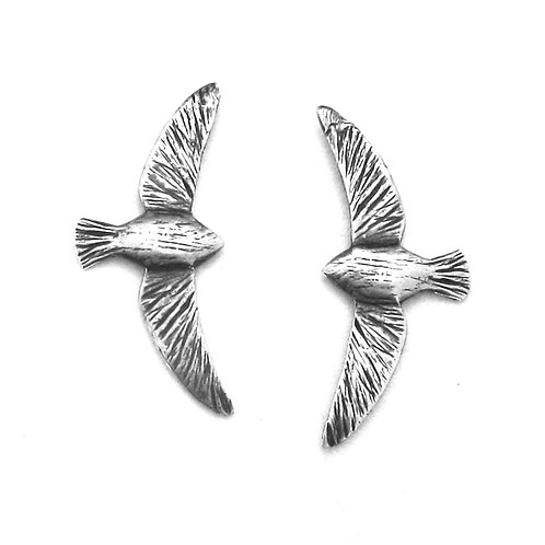 Soaring Bird Post Earrings
