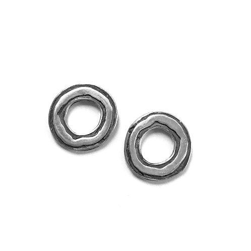 Tiny Echo OX Post Earrings