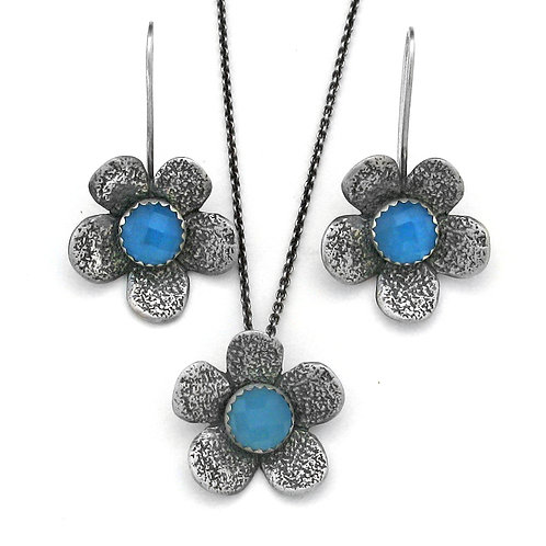 Custom Five Petal Earrings