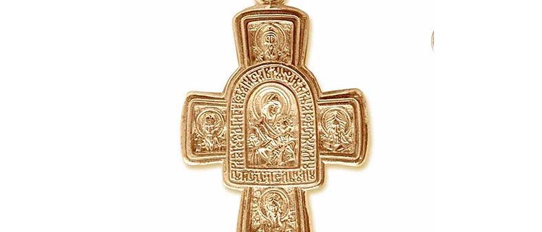 Крест 154 вес 11,00 гр