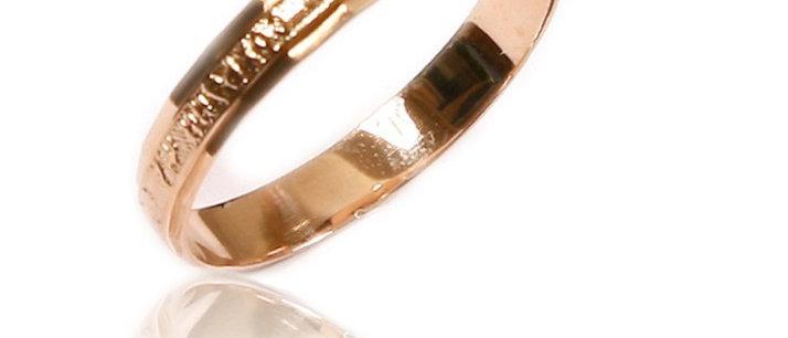 Обручальное кольцо 749 вес 2,0 гр