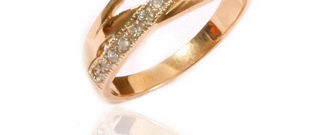 Обручальное кольцо 811 вес 2,5 гр