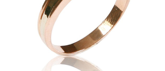 Обручальное кольцо 570 вес 4,0 гр