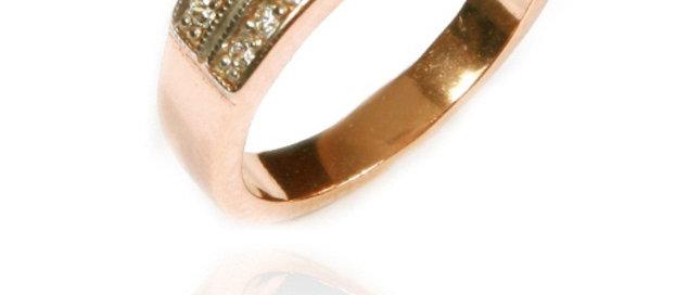Обручальное кольцо 893 вес 4,0 гр