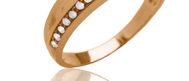 Обручальное кольцо 1410 вес 3,2 гр