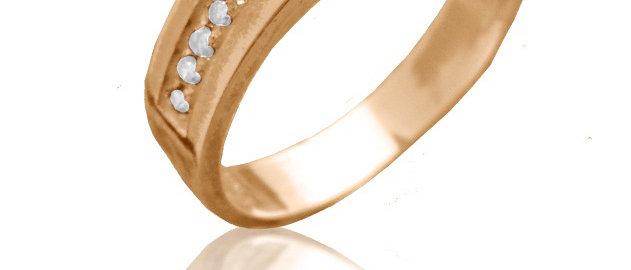 Обручальное кольцо 1412 вес 3,0 гр