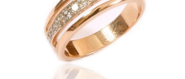 Обручальное кольцо 808 вес 4,0 гр