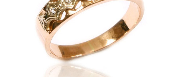 Обручальное кольцо 51 вес 2,5 гр