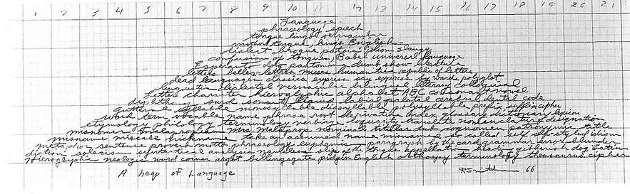 robert smithson, asemic writing, escritas, escrita