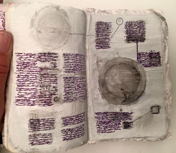 lucinda sherlock, asemic writing