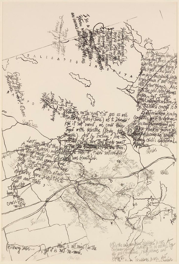 john cage, asemic writing