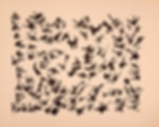 henri michaux, asemic writing, écriture, escrita