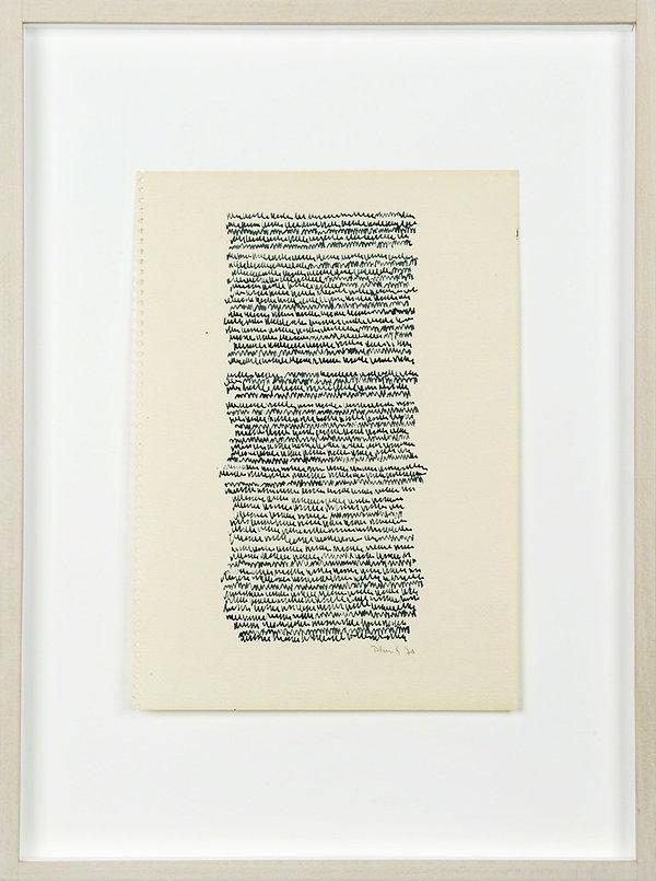 irma blank, asemic writing, escrita, écriture, scrittura