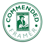 GCF Fine Art Trade Guild commended framer