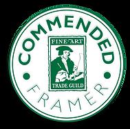 GCF Fine Art Trade Guild commended framer