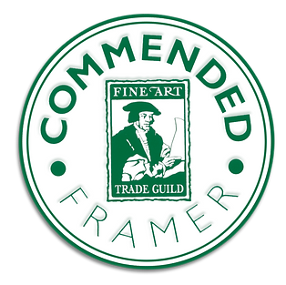 GCF Fine Art Trade Guild commended framer qualification