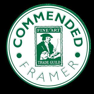 GCF Fine Art Trade Guild commended framer qualification